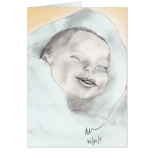 The baby card