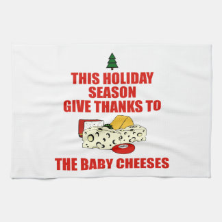 The Baby Cheeses Tea Towel