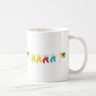 The baby is coming coffee mug