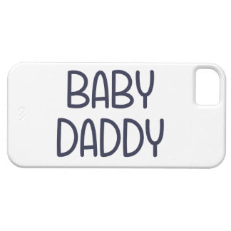 The Baby Mama Baby Daddy (i.e. father) iPhone 5 Covers
