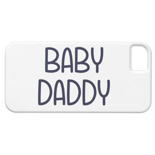 The Baby Mama Baby Daddy (i.e. father) iPhone 5/5S Cover