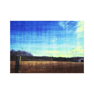 The Back Fourty Canvas Print