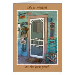 """The Back Porch"" Card"