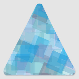 the-background-387205 ASSORTED BLUE LAYERED SQUARE Triangle Stickers