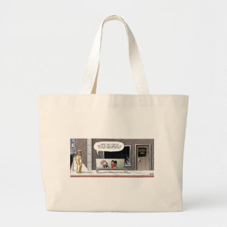 The Bad-Economy Tooth Fairy Jumbo Tote Bag