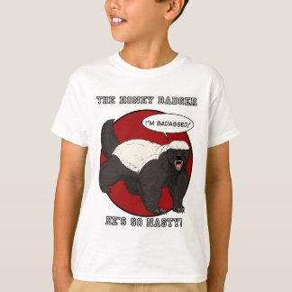 The Badassed Honey Badger T-Shirt