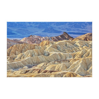 The Badlands of Zabriskie Point Canvas Print