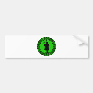 THE BAGPIPES CUSTOMS BUMPER STICKERS