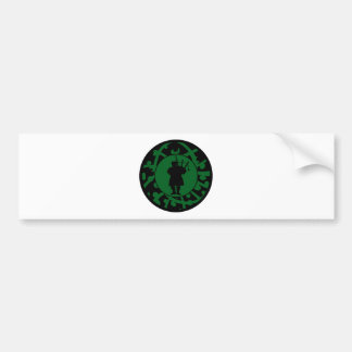 THE BAGPIPES EXPRESSION BUMPER STICKER