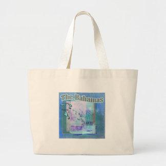 The Bahama Blues Large Tote Bag