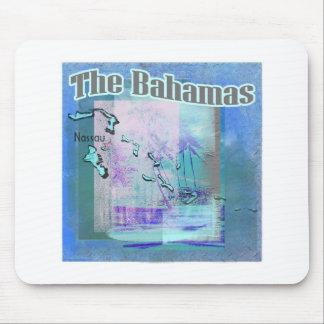 The Bahama Blues Mouse Mat