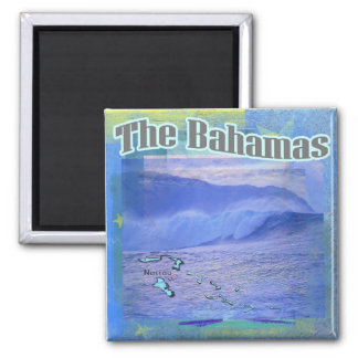 The Bahama Waves Magnet