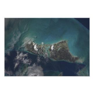 The Bahamas' Andros Island Art Photo