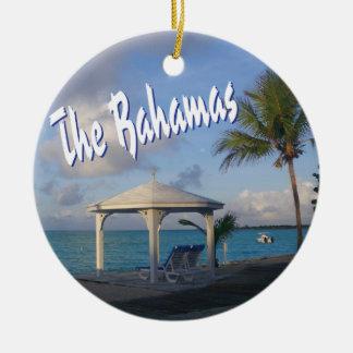 The Bahamas Commemorative Round Ceramic Decoration