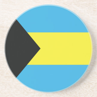 The Bahamas Flag Beverage Coaster