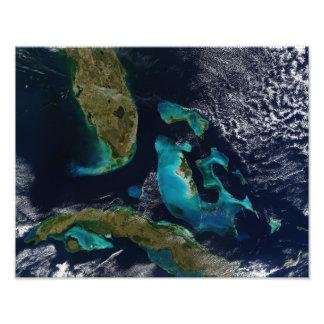 The Bahamas, Florida, and Cuba Photo Print