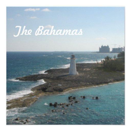The Bahamas Personalized Invites