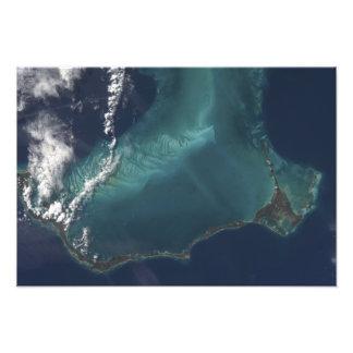 The Bahamas' lengthy narrow Eleuthra Island Photograph