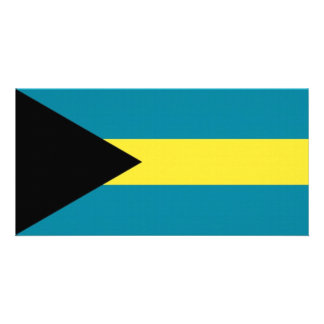 The Bahamas National Flag Photo Cards
