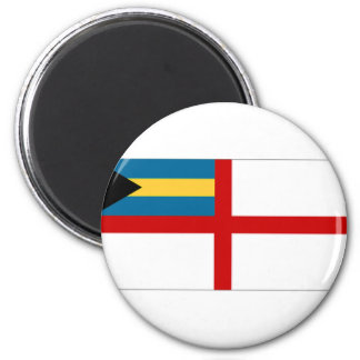 The Bahamas Naval Ensign Refrigerator Magnet