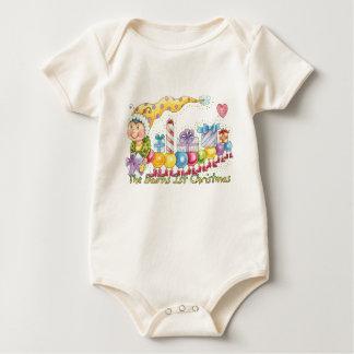 The Bairns 1st Christmas - Cute Bairns Baby Grow Rompers