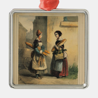 The Baker's Art, plate number 27 Christmas Ornament