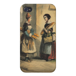 The Baker's Art, plate number 27 iPhone 4 Cover