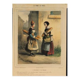 The Baker's Art, plate number 27 Postcard