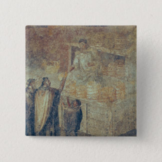 The Baker's Shop, from the 'Casa del 15 Cm Square Badge