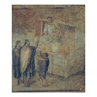 The Baker's Shop, from the 'Casa del Poster