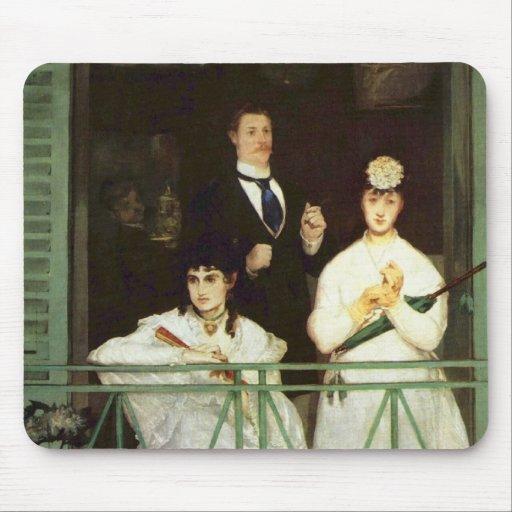 The Balcony - Edouard Manet Mouse Pad