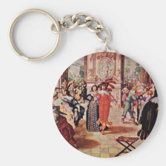 The Ball By Bosse Abraham Basic Round Button Key Ring