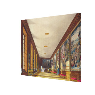 The Ball Room, Hampton Court, from 'The History of Canvas Print