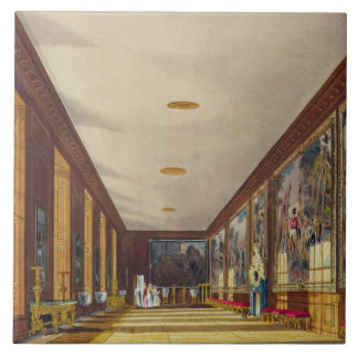 The Ball Room, Hampton Court, from 'The History of Tile