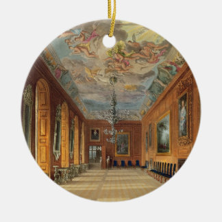 The Ball Room, Windsor Castle, from 'Royal Residen Christmas Ornament