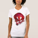 The Ball, the Girl and the Flag. T Shirts