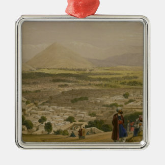 The Balla Hissar and City of Caubul, from the Uppe Christmas Ornament