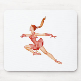 THE BALLERINA (Ballet Dancer) ~ Mouse Pad