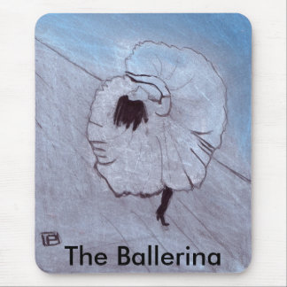 The ballerina mousemat
