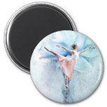 The Ballerina Refrigerator Magnet