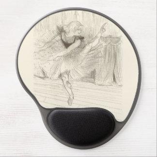 The Ballet Dancer Toulouse-Lautrec Gel Mouse Mats