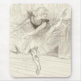 The Ballet Dancer Toulouse-Lautrec Mouse Pads
