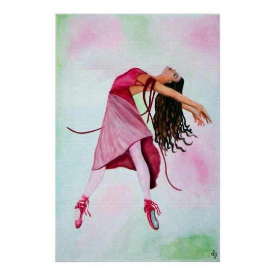 The Ballet In Pink Poster