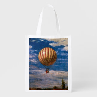 The Balloon, 1878 Reusable Grocery Bag