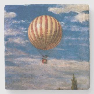 The Balloon, 1878 Stone Beverage Coaster