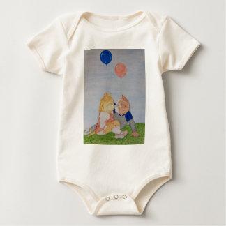 The Balloon Kittens Baby Bodysuit