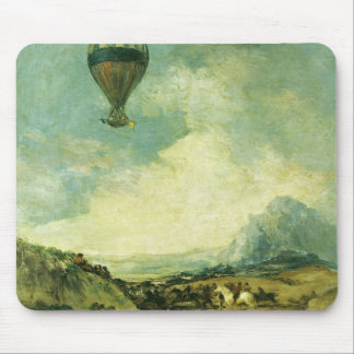 The Balloon or, The Ascent of the Montgolfier Mouse Mat
