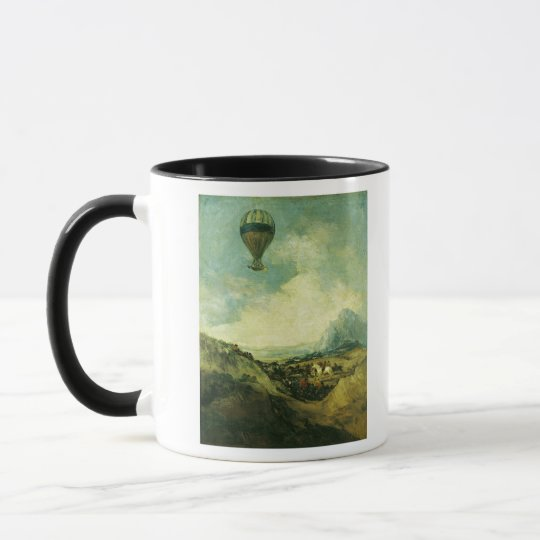 The Balloon or, The Ascent of the Montgolfier Mug