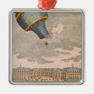 The Ballooning Experiment at the Chateau Christmas Ornament