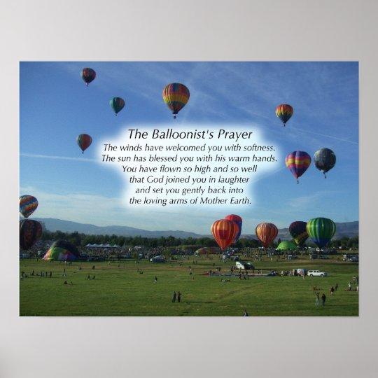 The Balloonist's Prayer Poster